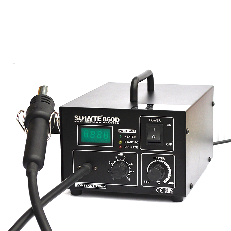 Hot air gun rework station Digital display temperature